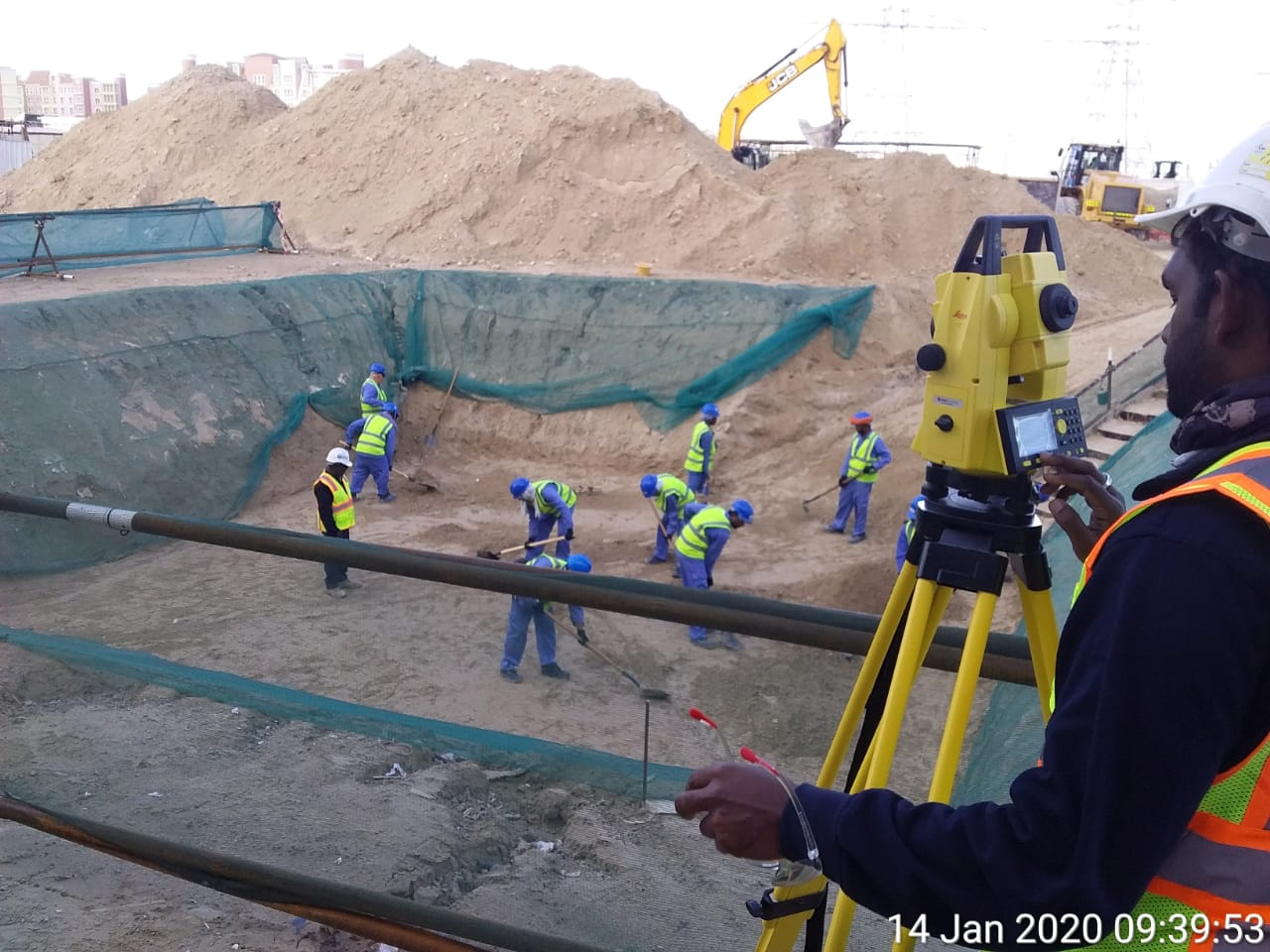 DEWA 400/132 KV Canal Gardens Substation- Balance Civil Works