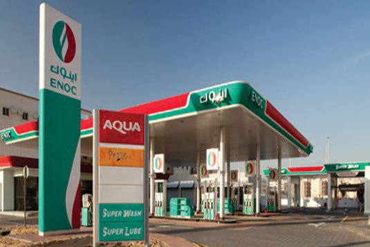 ENOC Filling Station on site 1013 at Al Quoz