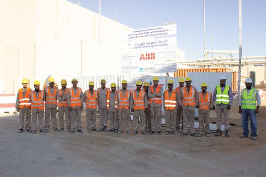 KAFC New 380kv/132kv/13.8kv BSP#9020 king Abdullah Financial City, Riyadh, KSA