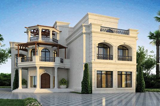 Residential villa – B+G+1 Roof floor for Mr Mohammed Ghassan