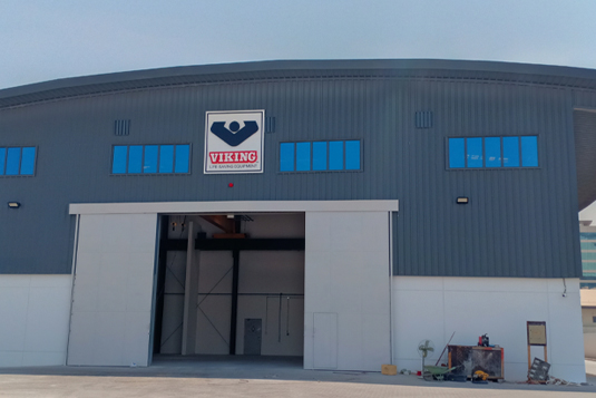 Warehouse plus office building at DMC for M/s Viking Life Saving Equipment, Dubai, UAE